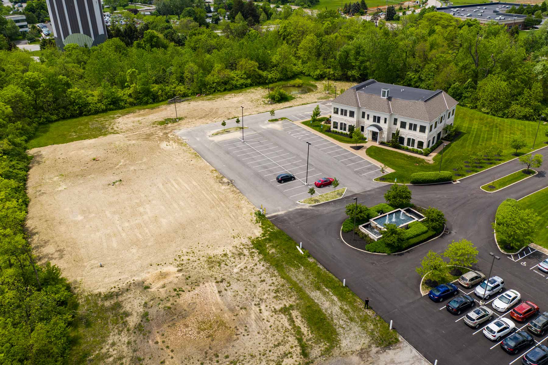 Stonehenge Corporate Park open lot