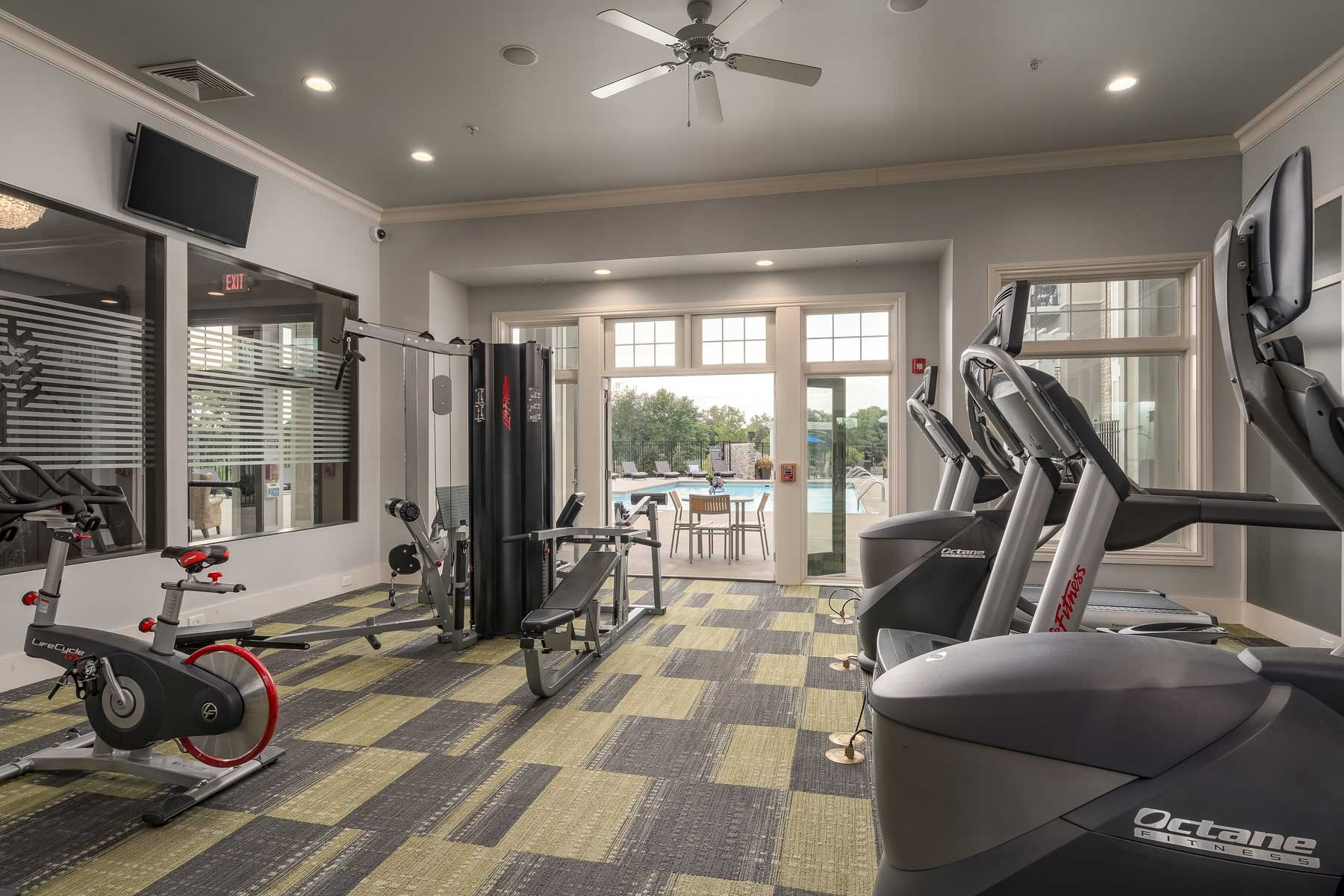 The Parc Fitness Room